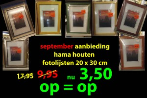 septemberaanbieding